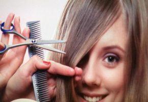 Подстричься самой