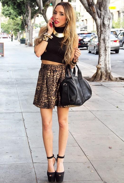 С чем нельзя носить леопардовый принт