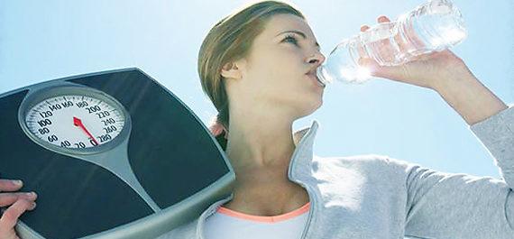 вода при похудении