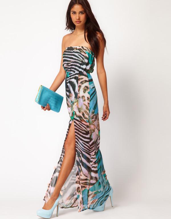Принт зебра в одежде