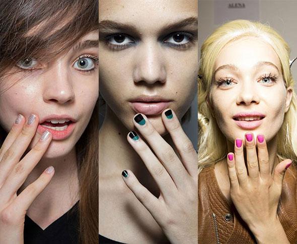 Квадратно-округлые ногти