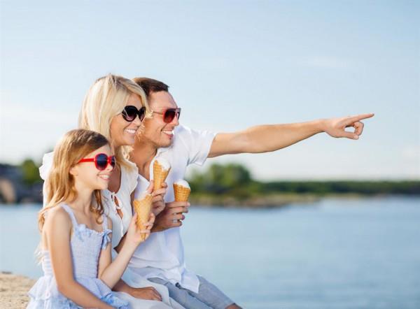 Отдых с семьёй летом