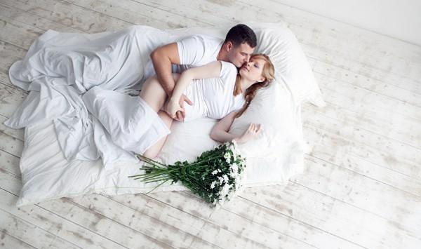 секс с беременной женой